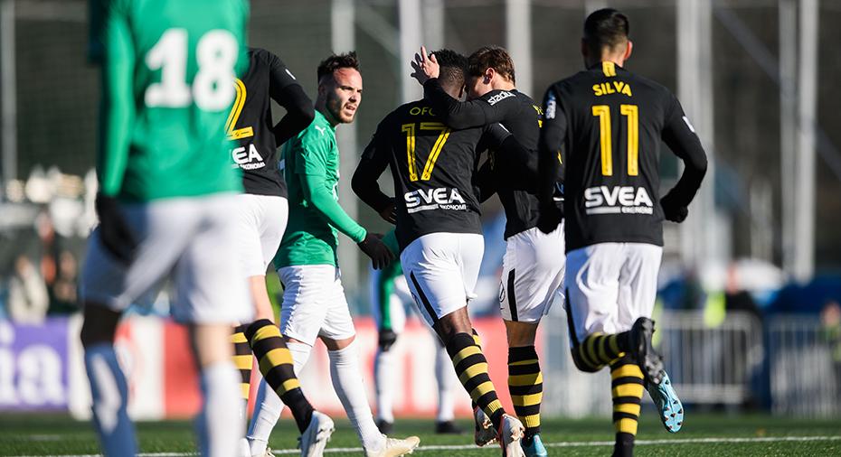Nära cupfiasko för AIK - hämtade upp 0-2 till 2-2 efter kanonmål av Ofori