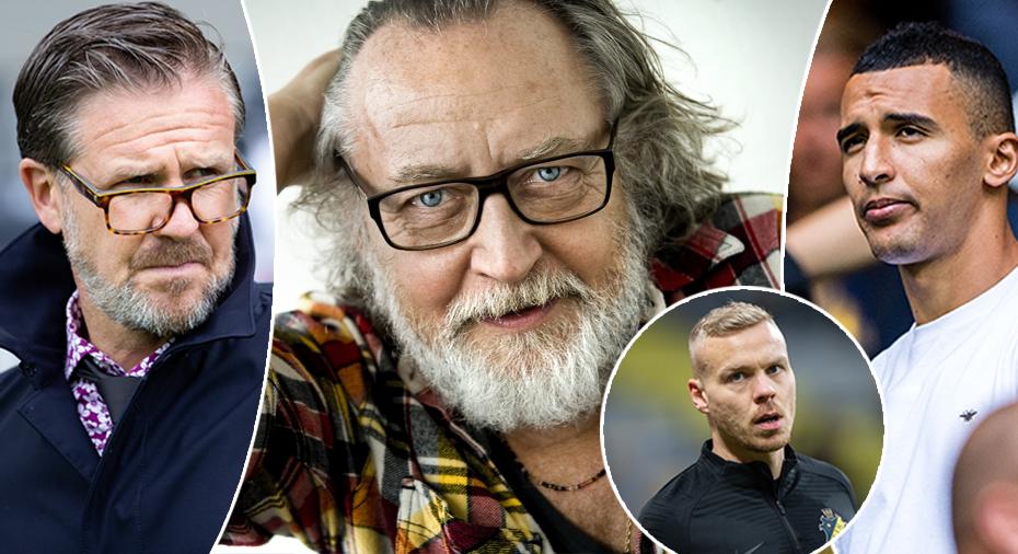 """Norling tonar ner om Bahoui och Sigthorsson - citerar Ulf Lundell: """"Utklädda till sig själva"""""""