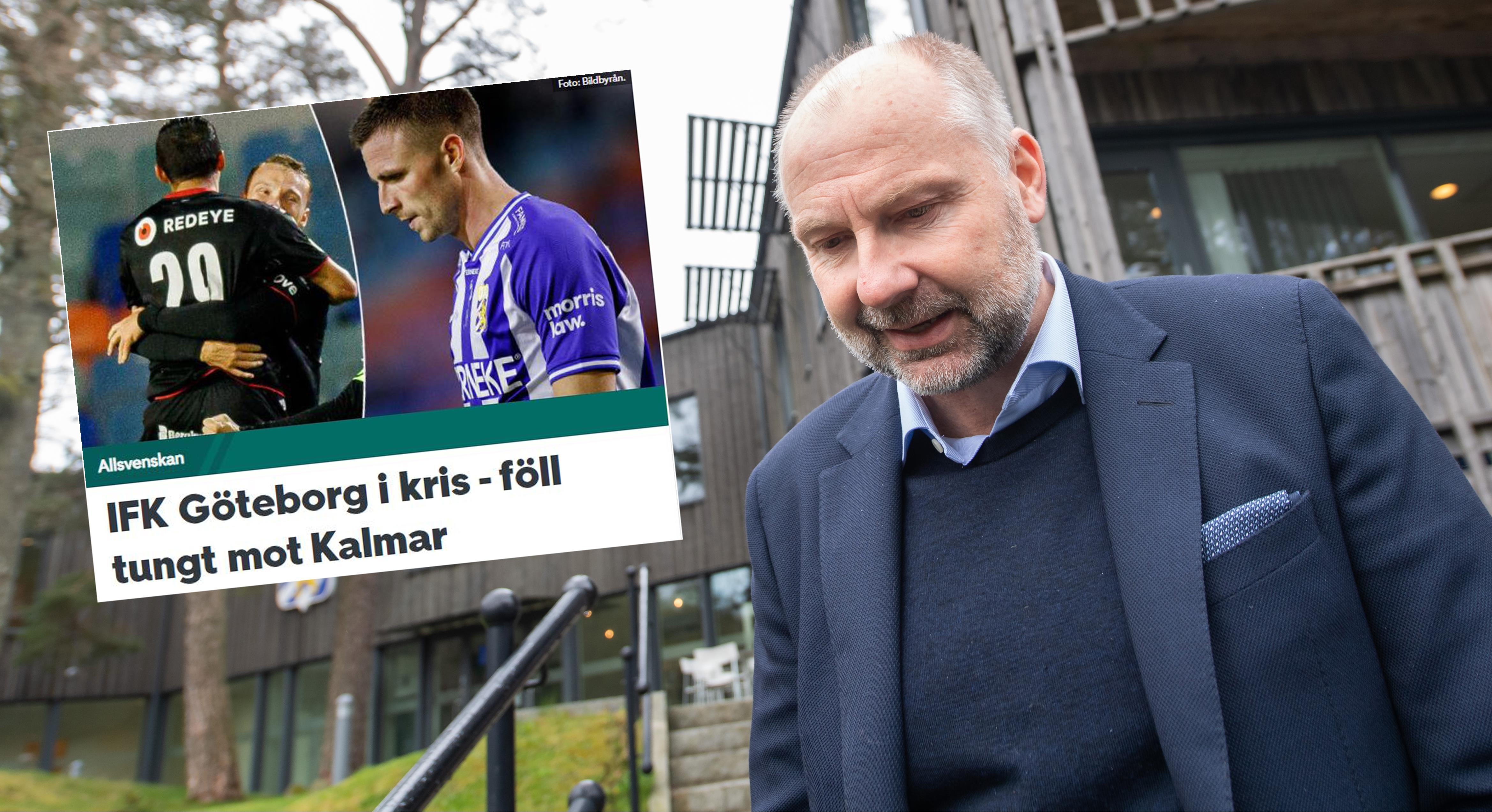 """Blåvitt i kris - Håkan Mild talar ut om pressen: """"Sett många som inte klarat av det"""""""