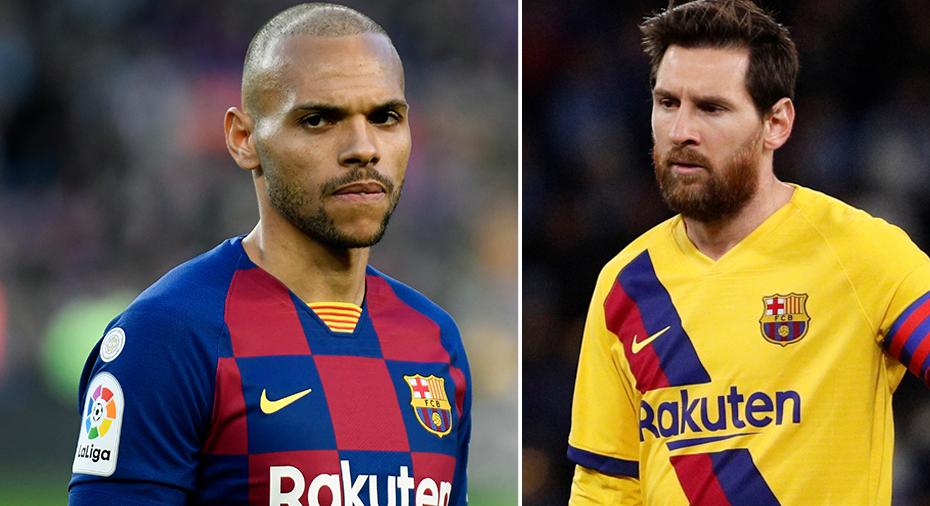 """Braithwaite beundrar Messi: """"Han är en inspirationskälla"""""""