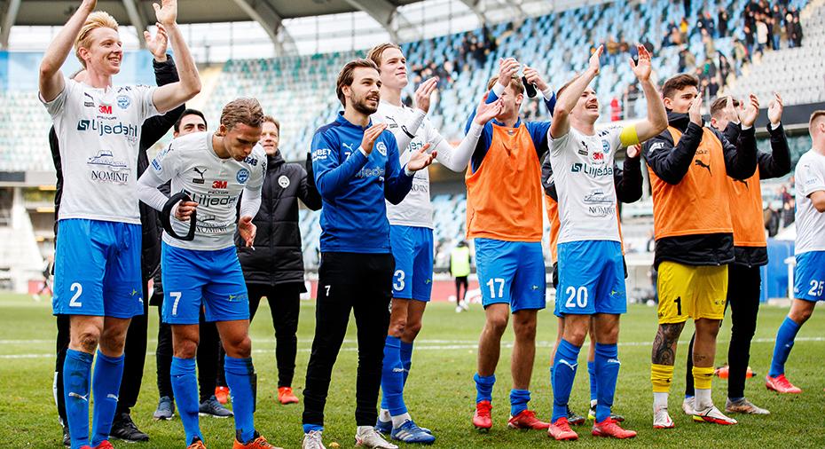 Värnamo ångar på mot allsvenskan - besegrade Gais och bärgade tre tunga poäng