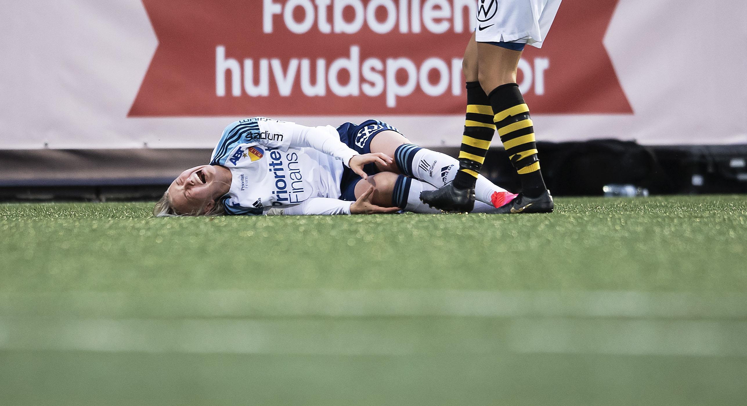 """Djurgårdens nyförvärv korsbandsskadad - missar resten av säsongen: """"Känner mig helt tom"""""""
