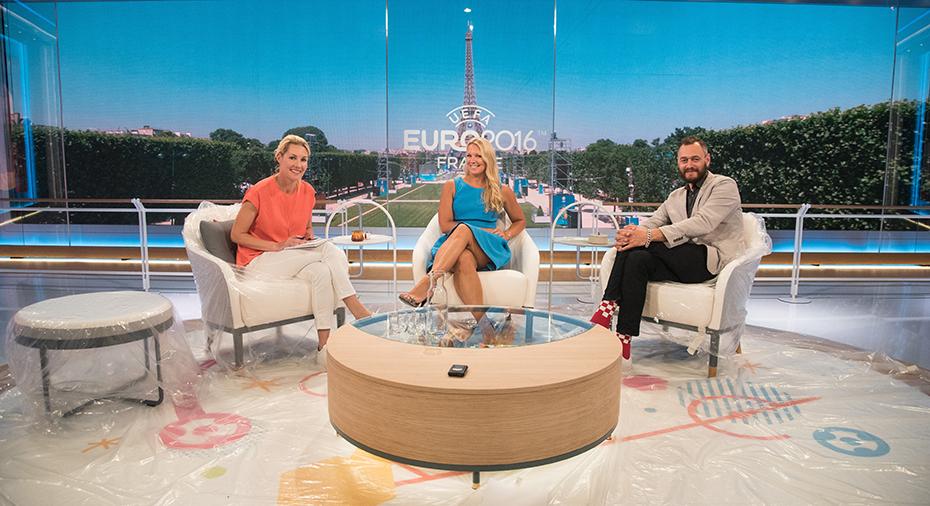 Här är TV4 s nya EM-studio 25267efe00fbf