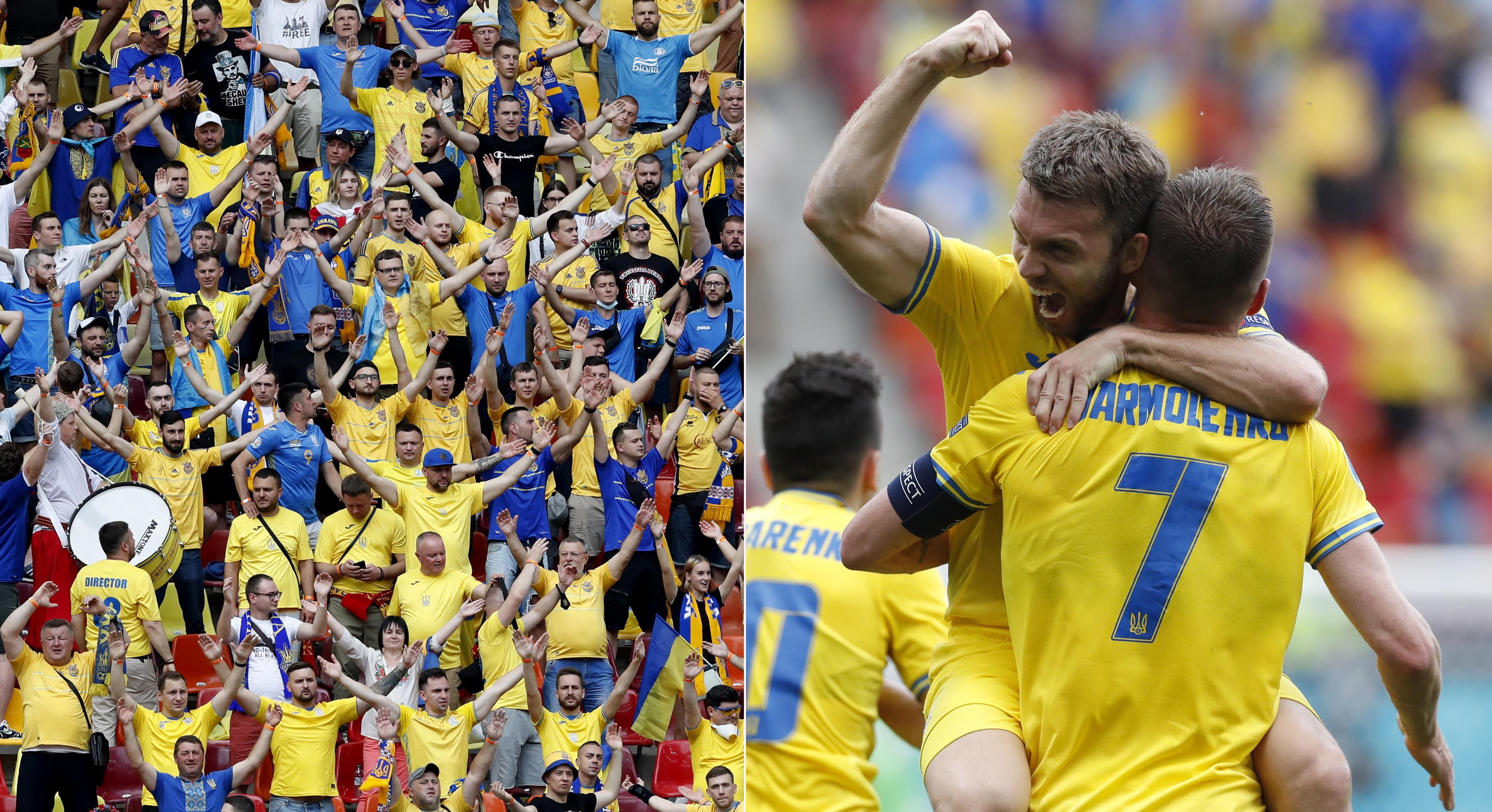 TV: JUST NU: Ukraina utökar mot EM-debutanten
