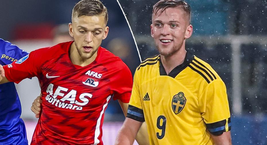 """Karlsson om målsuccén - och A-landslaget: """"Klart man vill vara med bland de stora"""""""