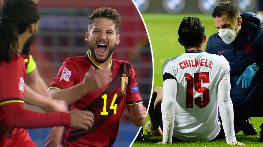JUST NU: Pressat England mot serieledaren Belgien - här är startelvorna i stormötet