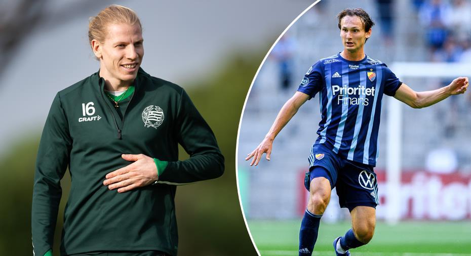 """Ludwigsons drag inför derbyt - ställde Hjalmar Ekdal till svars: """"Ville kolla läget"""""""