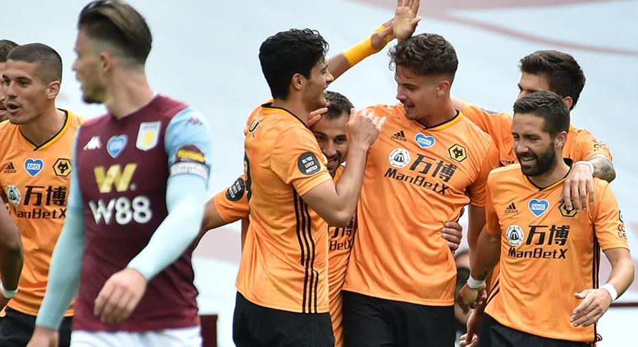 Tre viktiga poäng för Wolves i jakten på Europa - Villa kvar i bottenstriden
