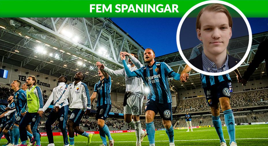 """FEM SPANINGAR: """"Nu kommer det glöda runt Djurgården och allsvenskan"""""""
