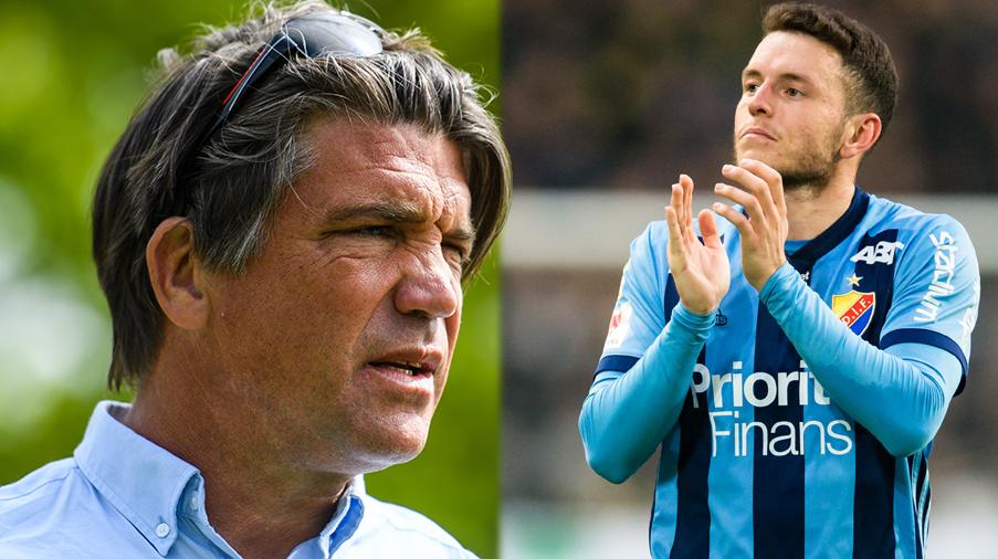 """Mrabti uppges lämna Birmingham - Andersson: """"Tror många skulle vilja se honom i Djurgården"""""""