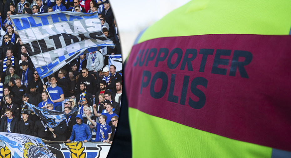 Blåvitt-supporter fick ta av sig till underkläderna inför stormötet - polisen kritiseras: