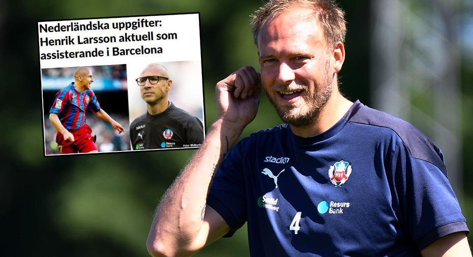 """HIF-profilerna om Larsson-uppgiften till Barcelona: """"Han får skicka spelare hit"""""""