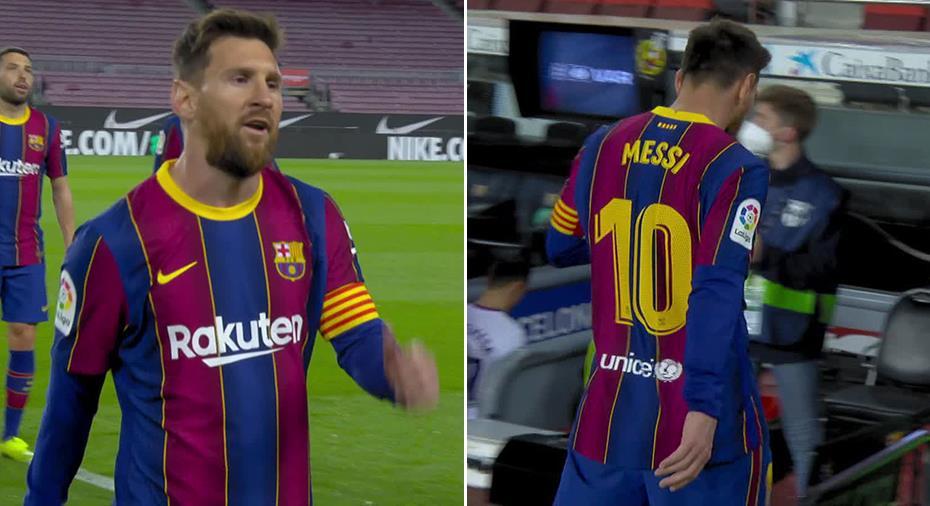 """TV: Messis frustration avslöjad av tv-kamerorna: """"Det är otroligt"""""""
