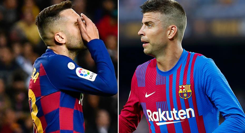 """Piqué tar Alba i försvar: """"Ett missförstånd"""""""