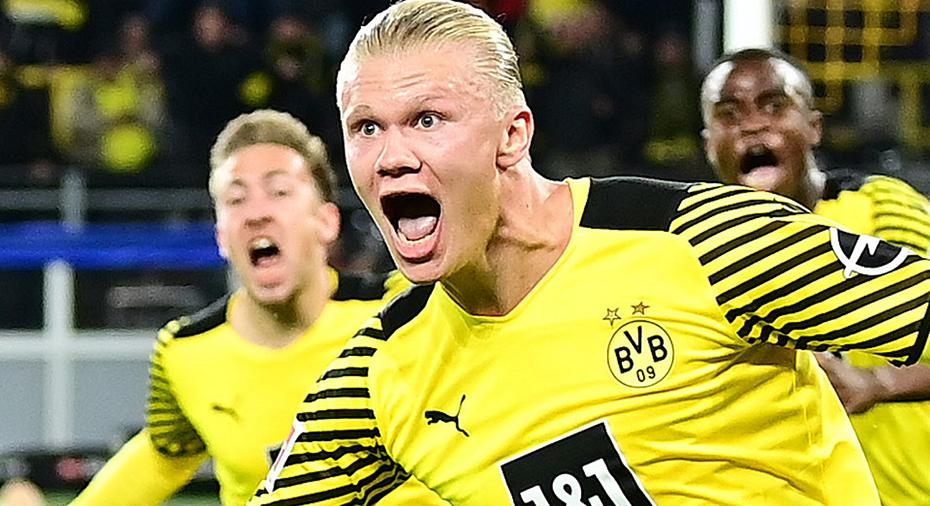 Haaland hjälte för Dortmund efter stort drama