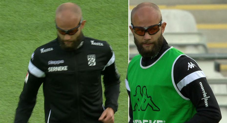 """IFK Göteborg: TV: Söder trivs inte fullt ut i sina glasögon: """"Ser knappt"""""""