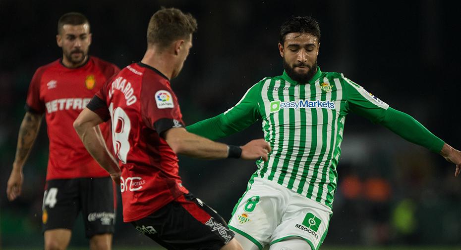 TV: Dubbla straffar och sex mål när Mallorca och Betis kryssade