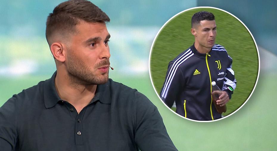 """TV: Ajdarevic om Ronaldos bänkning: """"Jättekonstigt - lämnar han nu?"""""""