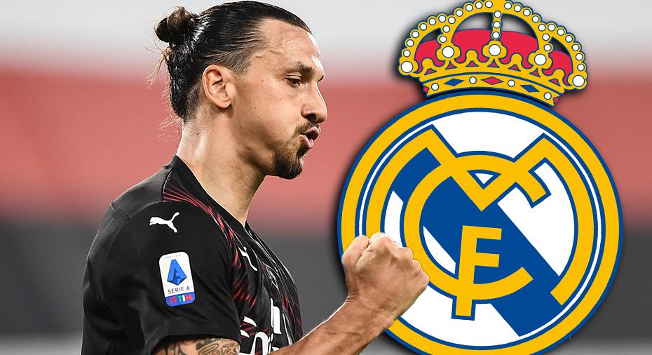 Real Madrid påstås visa intresse för Zlatan - och Milan fortsatt optimistiskt