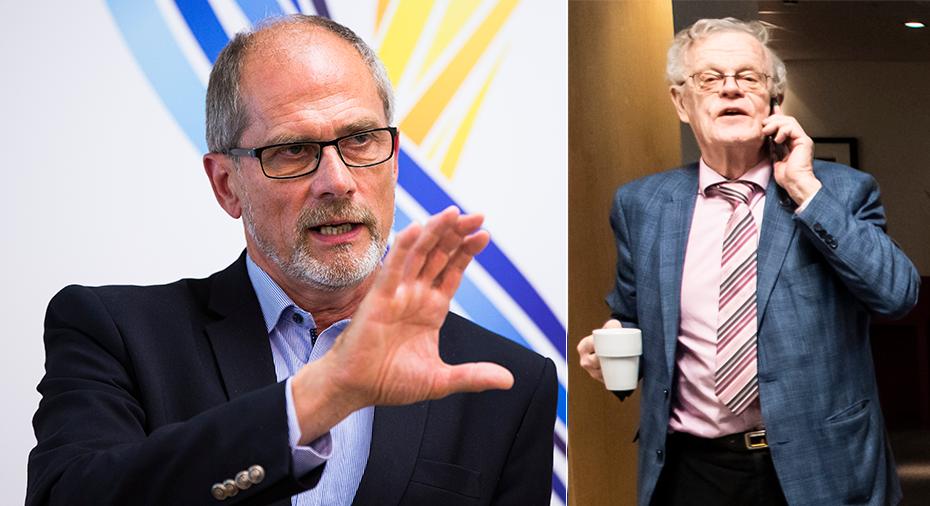 """Djup spricka mellan Sef-basen och Björn Eriksson: """"RF:s ordförande som är problemet"""""""