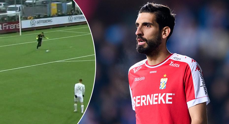 """Målvakten IFK Göteborgs nya anfallsvapen: """"Min första assist i karriären"""""""