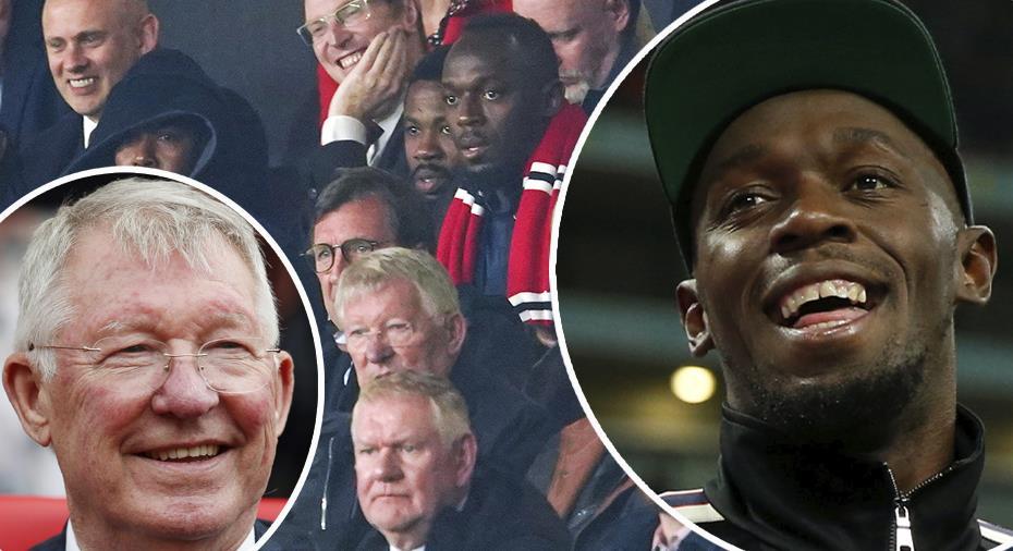 """Usain Bolts ord till Ferguson: """"Jag tackade honom"""""""