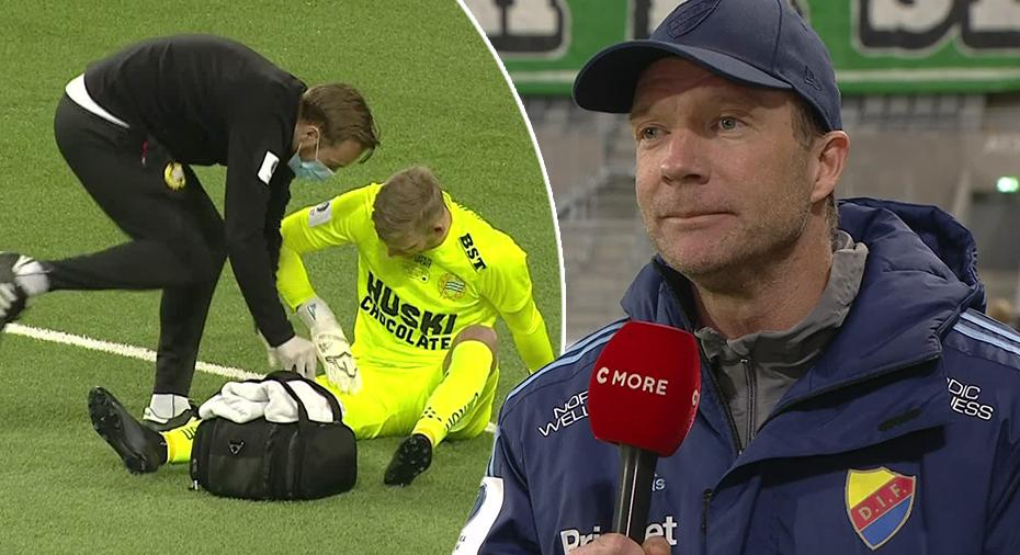 """TV: Bergstrands pik i halvtid: """"Vi får hoppas att deras målvakt håller ihop"""""""