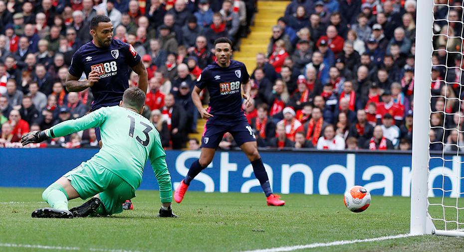 JUST NU: Bournemouth chockar Liverpool - tar ledningen direkt