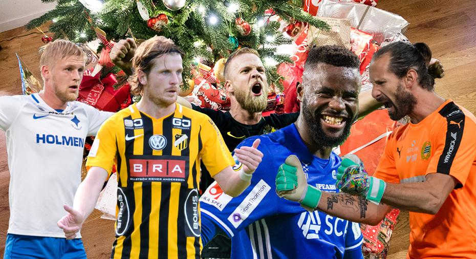 Swishgåva till HIF och kongolesiskt till lunch - så firar de allsvenska spelarna jul