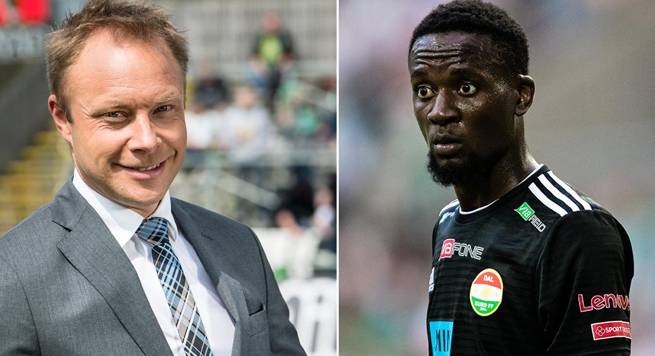 """Andersson om Difs Buya Turay-värvning: """"Du köper dig tid fram till sommaren"""""""