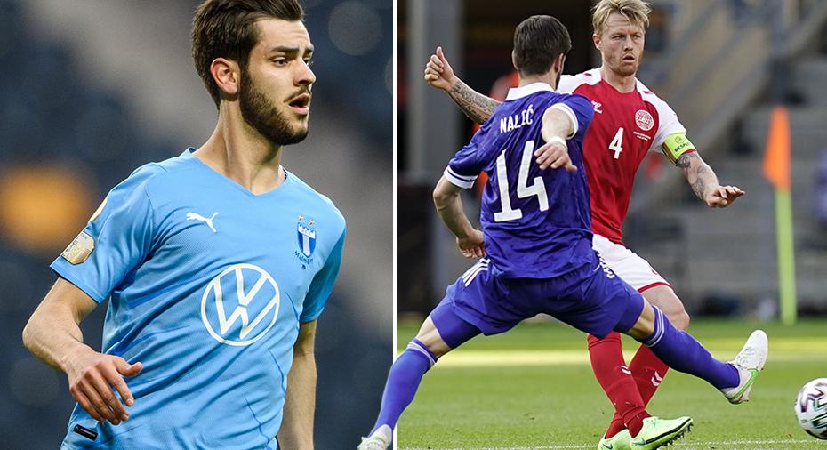 """Tre spelare med MFF-bakgrund på planen när Nalic landslagsdebuterade: """"Alla var jättenöjda"""""""