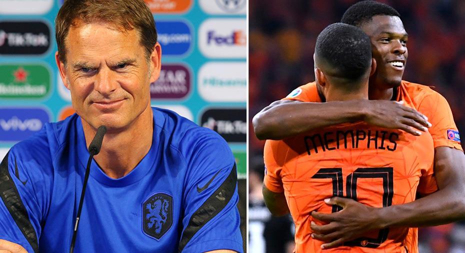 """Frank de Boer om Dumfries: """"Jag älskar killen"""""""