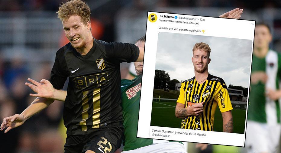 Officiellt: Samuel Gustafsson klar för BK Häcken