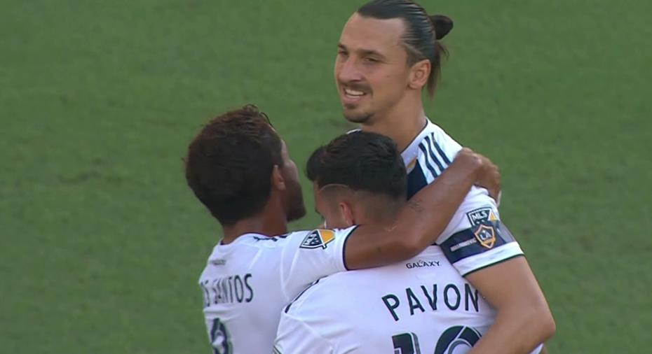 """TV: JUST NU: Ibrahimovic slår till med läcker fullträff: """"Hur snyggt som helst"""""""