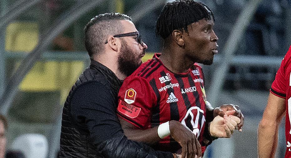 """ÖFK:s kommentar efter KFF-matchen: """"Står bakom Mensiro"""""""