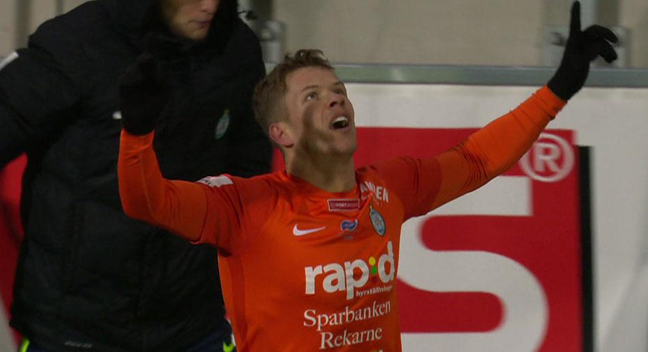 TV: JUST NU: Ajeti nätar mot gamla klubben - skjuter AFC mot allsvenskan