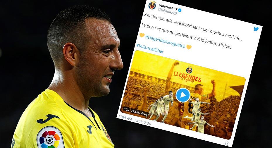 """Cazorla lämnar Villarreal: """"Har gett mig allt"""""""