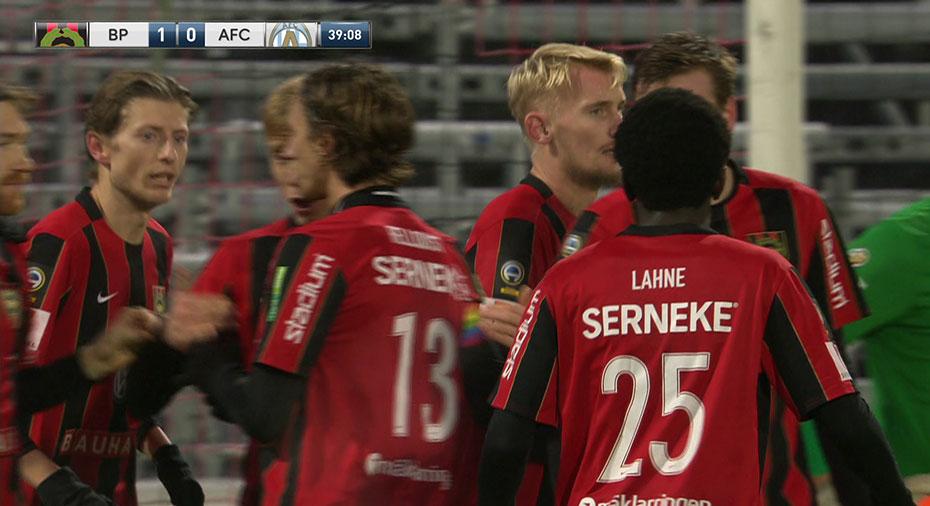 TV: JUST NU: BP tar ledningen -Öhman nätar mot gamla klubben