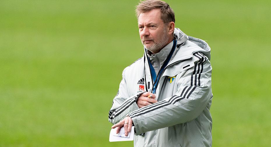 """Därför vägrar Gerhardsson testa många nya spelare: """"Svårt att se kvaliteter då"""""""