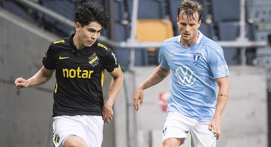 """18-årige AIK-debutanten plockade bort MFF-stjärnan: """"Han kom inte förbi en enda gång"""""""