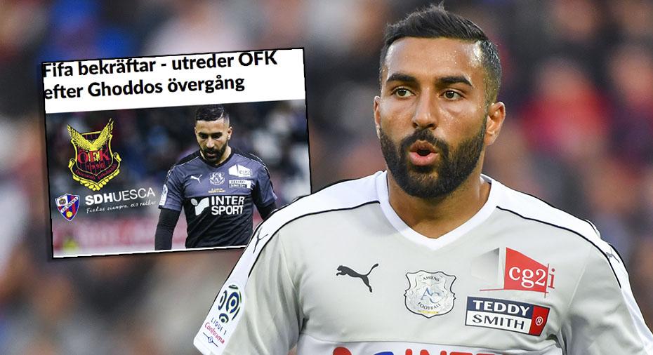 Avslöjar: Saman Ghoddos stängs av i fyra månader - och ÖFK får transferförbud