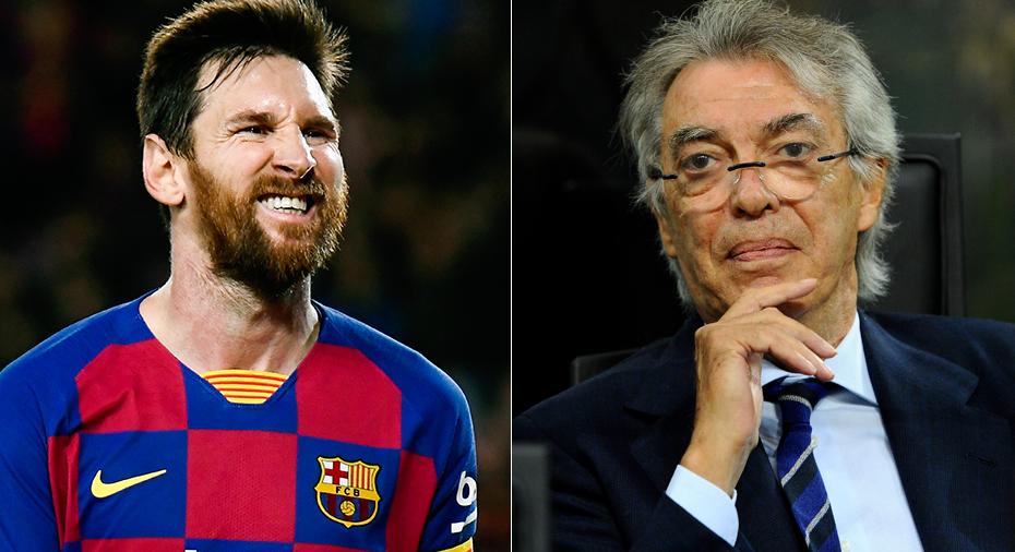 """Moratti drömmer om Messi: """"Han är inte en förbjuden dröm"""""""