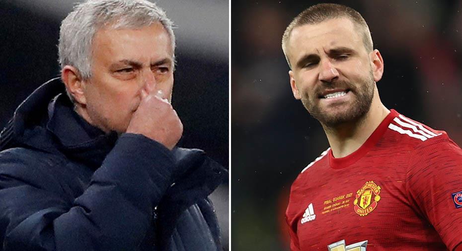 """Shaw slår tillbaka mot Mourinho: """"Konstigt att han fortsätter prata om mig"""""""