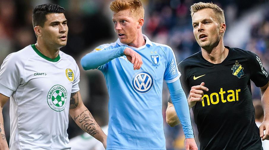 LISTA: Allsvenskans bästa spelare, plats 5-1
