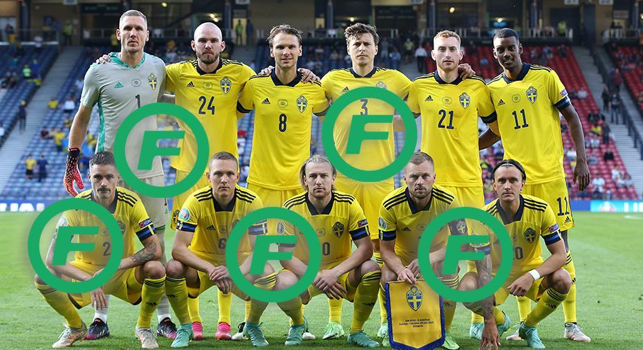 BETYG: Så presterade alla svenska spelare i EM