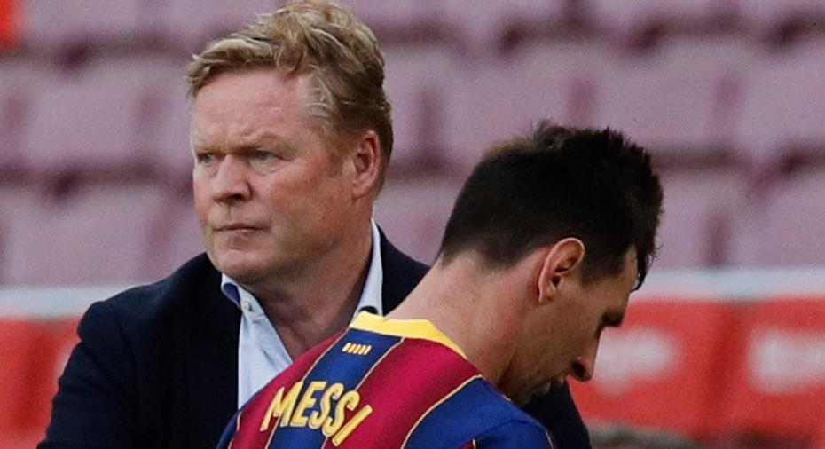 """Koeman efter poängtappet: """"Våra motståndare hade mer rädsla när Messi var här"""""""