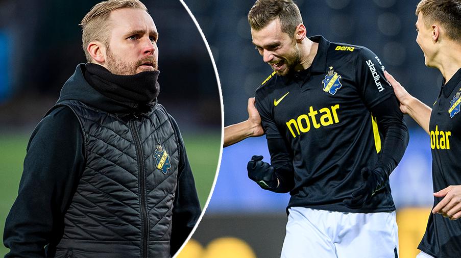 """Rogic första AIK-mål - efter tränarens """"hot"""": """"Nu får jag väl fortsätta att vara med"""""""