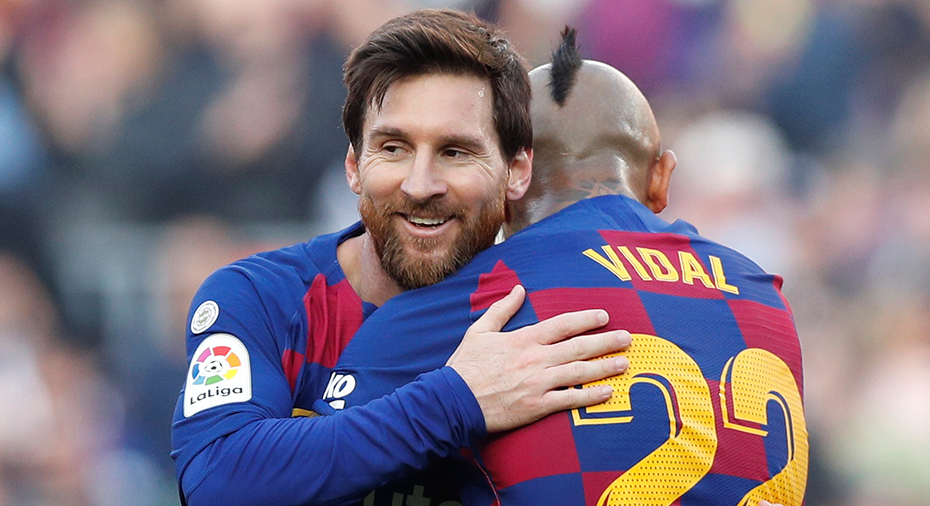 TV: Messis show - fyramålsskytt i Barcelonas kross