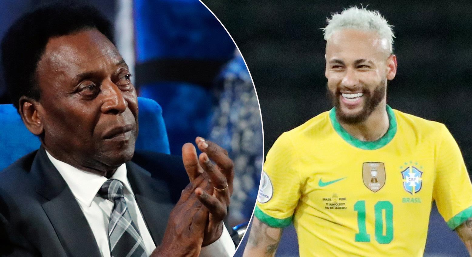 """Legendarens hälsning till Neymar: """"Jag vill att han slår mitt rekord"""""""