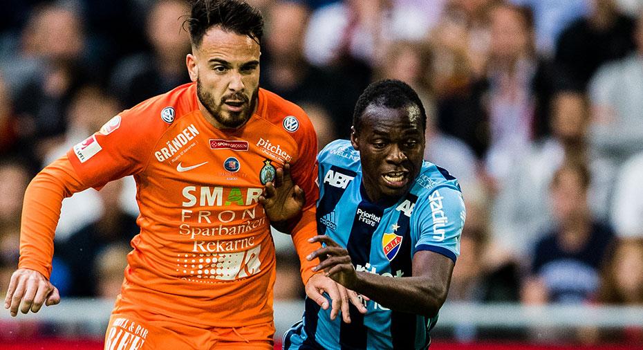 """Chilufya lugnar efter bytet: """"Kan jag inte spela mot MFF kanske jag kan spela mot AIK"""""""